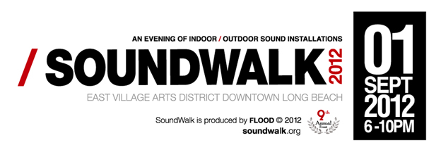 SoundWalk 2012 Poster