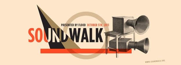 SoundWalk 2013 Poster